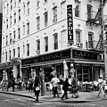 caffe napoli on the corner of mulberry street and hester st  little italy New York City USA by Joe Fox