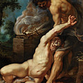 Cain Slaying Abel by Peter Paul Rubens