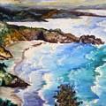 California Coastline by Tammera Malicki-Wong