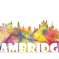 Cambridge England Skyline by Marlene Watson