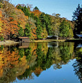 Camp Blanton Autumns Reflection by Tammy Hyatt