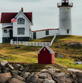 Cape Neddick Lighthouse 4 by Sherman Perry