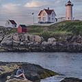 Cape Neddick Lighthouse by David DesRochers