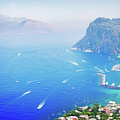Capri Island, Italy by Anastasy Yarmolovich