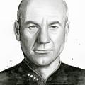 Captain Picard by Olga Shvartsur
