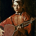 Caravaggio: Luteplayer by Granger