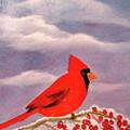 Cardinal Christmas by Reta Haube