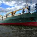 Cargo Ship by Anthony Dezenzio