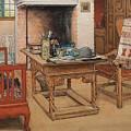 Carl Larsson - Peek-a-boo 1901 by Carl Larsson
