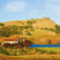 Carneros Valley by Mick Burkey