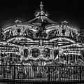 Carousel At Night by Alex Grichenko