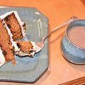 Carrot Cake And Coffee by Kim Bemis