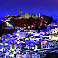 Casares By Night by Chris North
