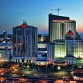 Casinos Atlantic City  by Chuck Kuhn