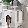 Cat Litter Box Furniture by Crazycatlady Supplies