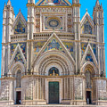Cathedral Of Orvieto, Duomo Di Orvieto, Umbria, Italy by JR Photography