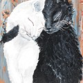 Cats  In Love by Medea Ioseliani