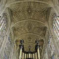 Ceiling Of Kings College Chapel by Axiom Photographic