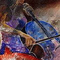 Cello Player  by Pol Ledent