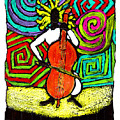 Cello Soloist by Wayne Potrafka
