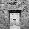 Chaco Canyon Doorways 1 by Carl Amoth