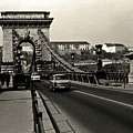 Chain Bridge Of Budapest In 1990 by Jarmo Honkanen
