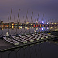 Charles River Boats Clear Water Reflection by Toby McGuire