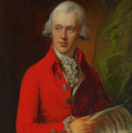 Charles Rousseau Burney by Thomas Gainsborough