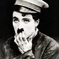 Charlie Chaplin, Vintage Actor And Comedian by John Springfield