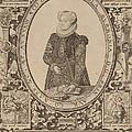 Charlotte Of Bourbon by Hendrik Goltzius