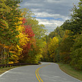 Cherohala Skyway In Autumn Color by Darrell Young