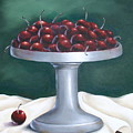 Cherries by Ruth Bares