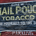Chew Mail Pouch Tobacco Ad by Paul Ward