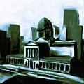 Chicago Federal Building 540 3 by Mawra Tahreem