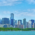 Chicago Skyline by Izet Kapetanovic