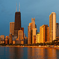 Chicago Skyline by Sebastian Musial