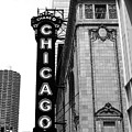 Chicago Theater by Diane Schuler