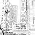 Chicago Theater Marquee by Ely Arsha