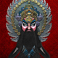 Chinese Masks - Large Masks Series - The Emperor by Serge Averbukh