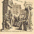 Christ Before Caiaphas by Jacques Callot