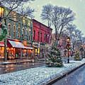 Christmas On Main Street by Bernadette Chiaramonte