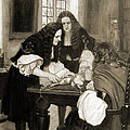 Christopher Wren Injects Drugs by Wellcome Images
