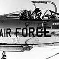 Chuck Yeager, Usaf Officer And Test by Science Source