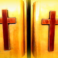 Church Doors by Ed Weidman