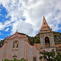 Church In Taormina by Madeline Ellis