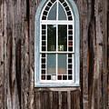 Church Window by Dale Powell