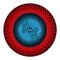Circle Study No. 316 by Alan Bennington