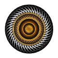 Circle Study No. 318 by Alan Bennington