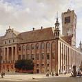City Hall At Thorn by Eduard Gaertner
