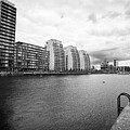 city lofts and nv buildings salford quays Manchester uk by Joe Fox